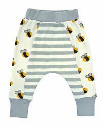 Bebé llevar polainas de bebé de algodón suave algodón orgánico Unisex pantalón para bebés