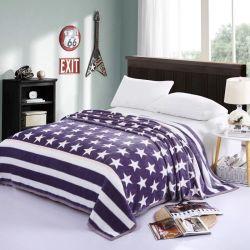 Home Produtos Têxteis Star espesso impresso acomodações confortáveis e modernas Manta flanela