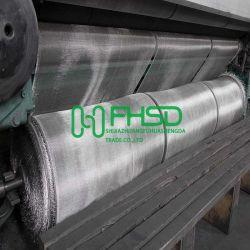 Acabamento prateado Aluminium Wire Mesh inseto voe Panos de tela de Mosquito