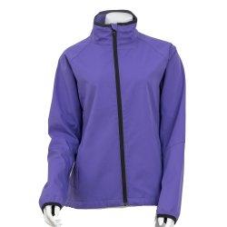 Señoras Actividades al Aire Libre pegado lana Chaqueta chaqueta Softshell repelente al agua