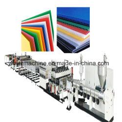 Espulsione di plastica dello strato del cartone del favo di prezzi della macchina di fabbricazione di piatto