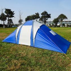 6 Лицо больших семейных открытый кемпинг палатка с двумя зал