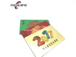 PVC personalizadas Tarjeta de fidelización Tarjeta de Descuento de la tarjeta en blanco de plástico
