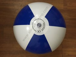 Ballon de plage gonflable Bi-Colored PVC