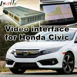 Auto Mobile GPS Navigation Box voor Honda met MirrorLink