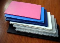 Pp Golfkarton Plastic Blad/Corfluit Blad/Pp Plaat Voor Verpakking, Signage, Bescherming
