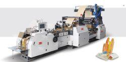 Sac de papier alimentaire la machine avec deux couleurs d'impression en ligne de la machine