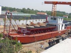 La Chine de 3000 tonnes de sable barge de transport pour la vente