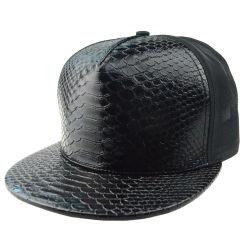 Custom винты с плоской головной убор для детей в обычную винты с головкой из натуральной кожи черного цвета бейсбольные Snapback Red Hat ячеистой сети