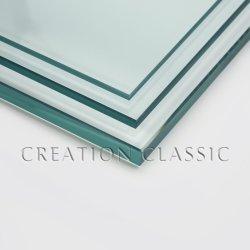 3mm/4mm/5mm/6mm/8mm/10mm/12mm/15mm/19mm/Ultra claire pour la fenêtre de verre flotté clair/bâtiment