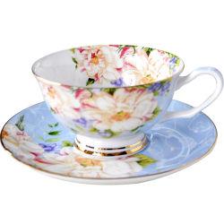 본 차이나 찻잔과 접시 본 차이나 식기류 본 차이나 식기 본 차이나 커피 잔