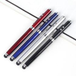 Commerce de gros stylo lumière laser multifonction