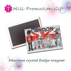 Phantomkundenspezifische Zinn Belüftung-Kristallplatten-bilden flexibler Kühlraum-Kühlraum-Gummimagnet für Andenken und förderndes Geschenk Ihre Selbst