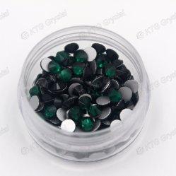 非中国のガラスラインストーンHotfixの工場卸し売り最上質