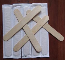 O depressor da Lingueta de bambu embalagem separada (LY-BT-A)
