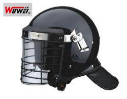 Clear Polycarbonate Visorの警察Military Anti Riot Helmet