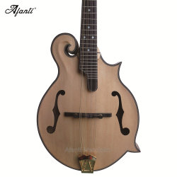 Afanti Solid Zebrano Gloss couleur naturelle F de la mandoline