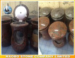 O Cemitério de granito direto de fábrica suporte para velas por grosso