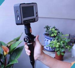 Vidéo de l'industrie d'endoscope souple avec une caméra HD, 4 contacts Astuce Articulations, 5,5 mm Diamètre de la lentille, Longueur de câble 2m