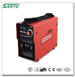 دورة الخدمة العالية ماكينة اللحام بالقوس الأحادي الطور MMA-200 Arc-200 Zx7-200 IGBT
