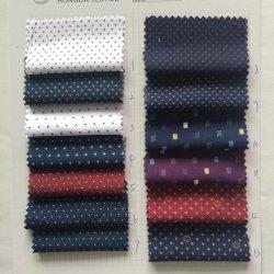 La impresión de nuevo diseño de punto tejido de poliéster/Verificar Corbata