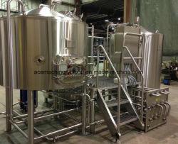 1bbl-30bbl dirigono caldaia infornata/a gas di Brew con il mulinello/il mulinello caldaia del Boil