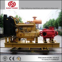 12-дюймовый 120квт дизельного двигателя водяного насоса с отток 1260м3/ч поднимите 26m