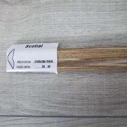 Accessoire Scotial de 12mm Planchers laminés plinthes T-moulage de réducteur