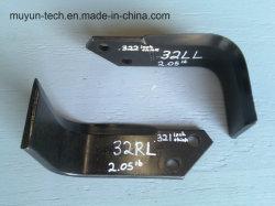 Mu Yunの耕うん機のRotavatorの極度コート65mn 60si2mnの特別な回転式刃