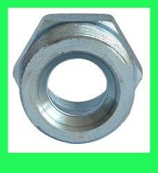 Оцинкованные стальные Бобышка грунта совместных штуцер для шланга подачи пара