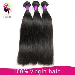 Tissage de cheveux brésiliens à bon marché de gros ensembles de droite,