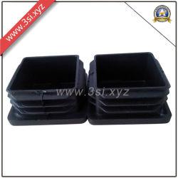 Herraje de muebles de plástico para tubo cuadrado insertos (YZF-H130)