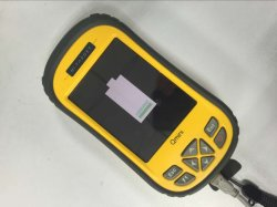 Китай торговой марки Hi-Target Портативное устройство GPS приемник Gnss, регистратор данных на местах с большим сенсорным экраном