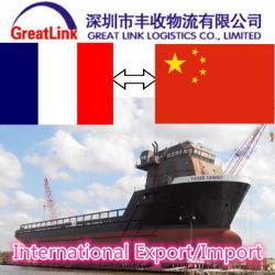 Международные морские перевозки экспорта/импорта из Китая для Франции