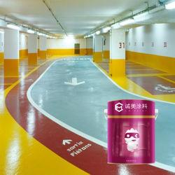 De Olie van uitstekende kwaliteit baseerde de Anti Slippy Deklaag van de Vloer van het Water Bestand Borstel Gebeëindigde Epoxy voor het Parkeren van de Auto