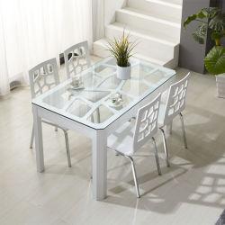 Le verre trempé Table à manger (JINBO).