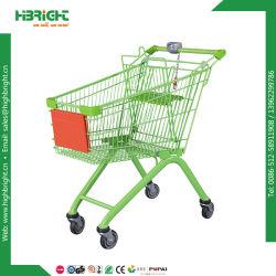 150L de metal supermercado Carrito con asiento de bebé (HBE-A-150)