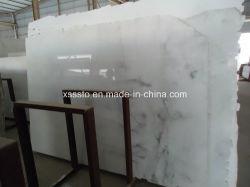 Pavimentazione di marmo bianca di cristallo Polished
