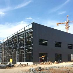 Pré Engineering Design Especial Construções prefabricadas Estrutura de aço de construção