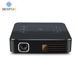Xnewfun mini proyector de vídeo inteligente en 3D portátil Android 7.1.2 Duplicación inalámbrica para smartphone compatible con 1080P