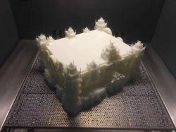 A impressão 3D do SLA Precision peças de usinagem CNC moagem CNC rodando o protótipo rápido de vazamento de vácuo