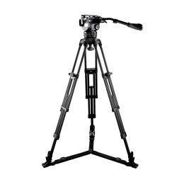 Professionelles E-Image Stativ aus Kohlefaser für Videokamera (EG15C2)
