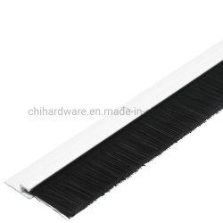 Garage-Tür-Pinsel-Streifen mit Aluminiumh Schweinestall-staubdichter Pinsel-Dichtung 180 Träger-für den Tür-u. Rolltreppe-Dichtungsstreifen