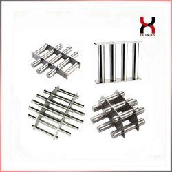 영구 서랍 자석 네오디뮴 마그네틱 필터 네디페비 그레이트 자석 필터 산업 생산을 위한 맞춤형 가우스/크기 자석 그릴