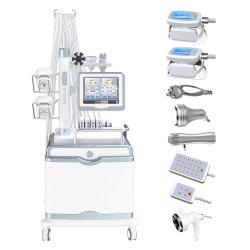2020 новейший Cryolipolysis+Lipolaser+Velashape+кавитация + RF+Shockwave терапии похудение машины