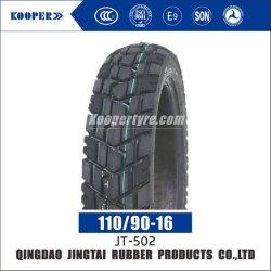 Nouveau OEM 16 pouces 6pr/Nylon 8pr de la courroie en caoutchouc naturel des pneus diagonaux Pattern moto hors route Pneu tubeless/pneu (110/90-16) à la norme ISO CCC d'E-MARK Soncap DOT SGS COC
