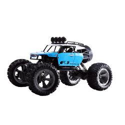 Vendita all'ingrosso 1: 12 telecomando a quattro ruote su camion a parete per arrampicata fuoristrada giocattolo elettrico per auto RC per bambini Offerta promozionale per gruppi di gioco all'aperto
