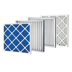 Personalizar el bastidor de cartón plegado de papel desechables Merv8 G4, la sustitución del filtro previo para el sistema de aire acondicionado