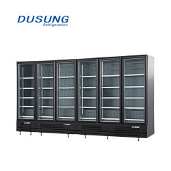 Glastür-Display Kühlschrank Showcase für Supermarkt