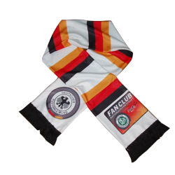 100% 폴리에스테르 시준 프린트 팬 스카프(팀 로고 및 포함 디자인